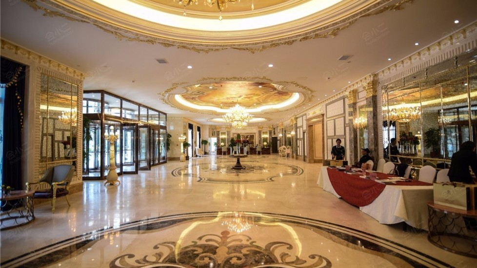 哈尔滨巴黎四季酒店大堂图片