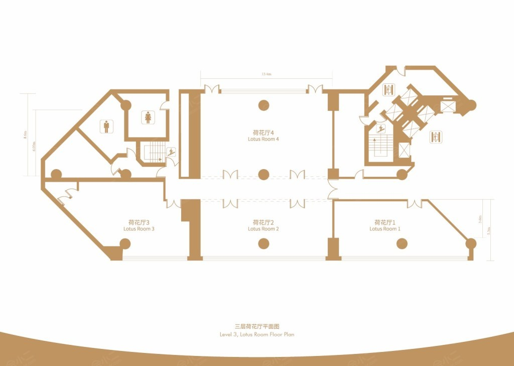 荷花2+4厅