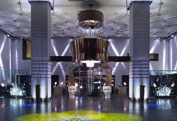 益田影人花园酒店酒店大堂 (6)