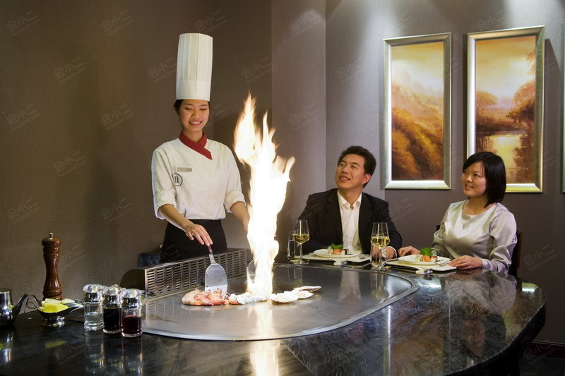 日式铁板烧餐厅