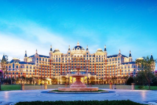 北京新华联丽景温泉酒店外观