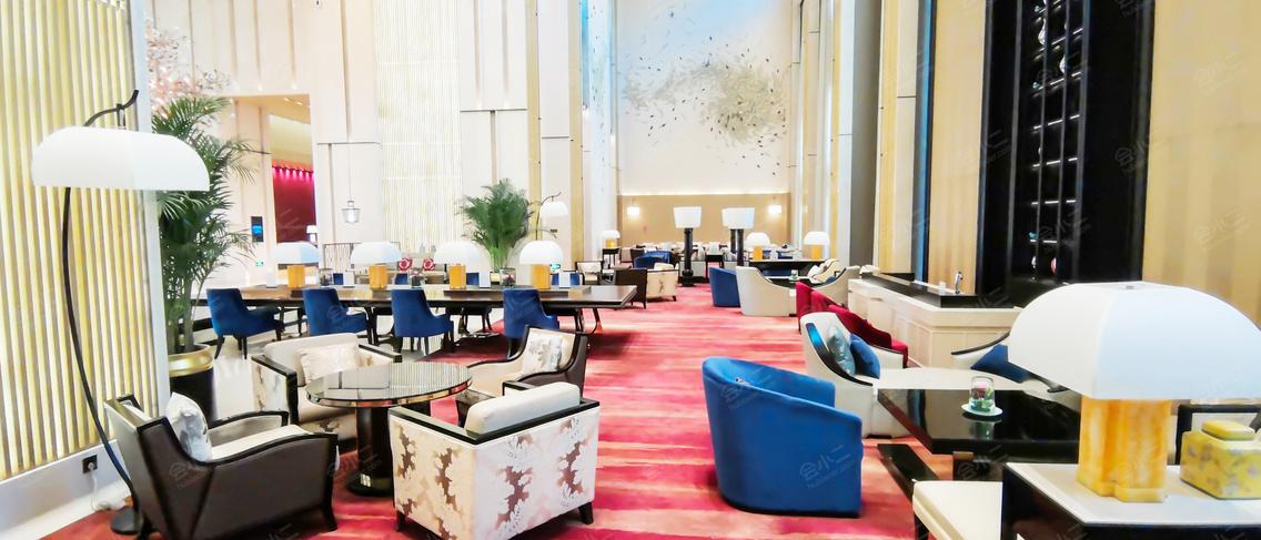 北京海湾半山温泉酒店大堂
