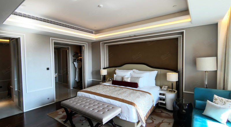 北京海湾半山温泉酒店客房